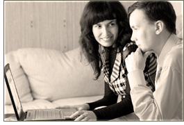 Volodymyr and Nadiya - Founders of Vladonai Software, Developers of AllMyNotes Organizer