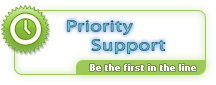 Priority Support - be the first in the line :)